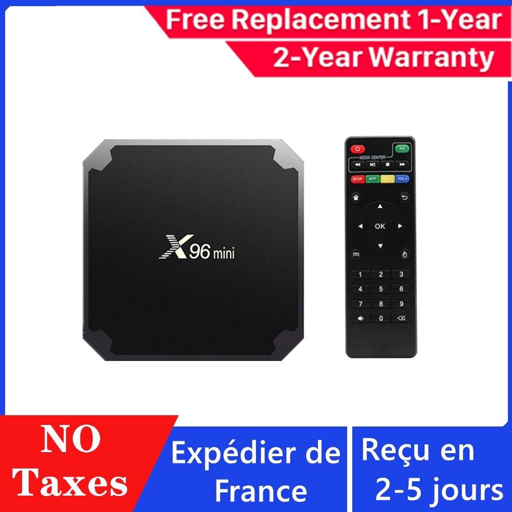 X96 Mini iptv caja neo tv pro android tv caja 1G 8G 2G 16G neox reproductor de medios x96 mini smart decodificador iptv los canales no incluido