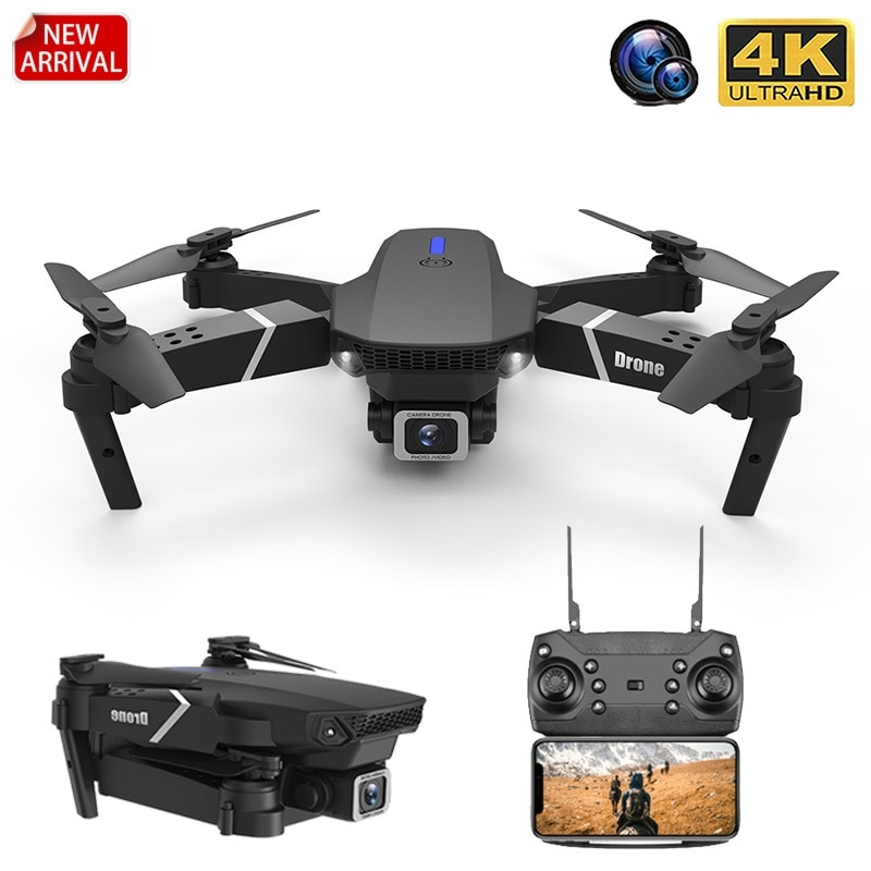 f6 drone 4k 1080p hd wifi quadcopter servo camera remote control adjustable angle drone camera dron reserve height rc helicopter RC Drone With Wide Angle HD 4K 1080P Wifi Fpv Dual Camera Height Hold Foldable Quadcopter Dron Kid's Gift Toy