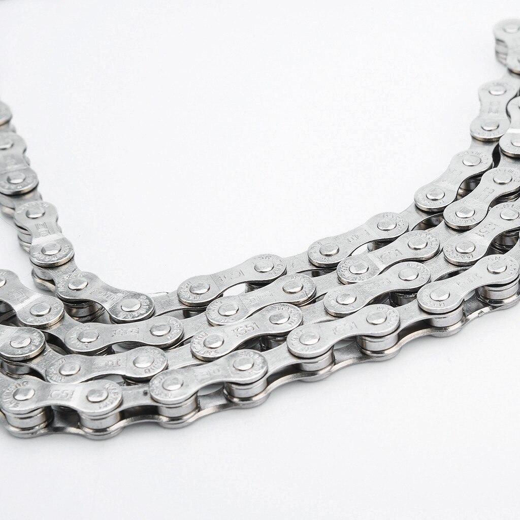 Cadena de acero para Bicicleta de montaña y carretera, accesorio de 6-7-8...