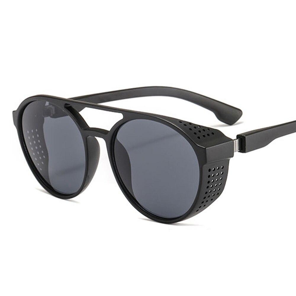 Солнцезащитные очки в стиле панк мужские, классические брендовые дизайнерские солнечные очки в винтажном стиле, в стиле панк, UV40