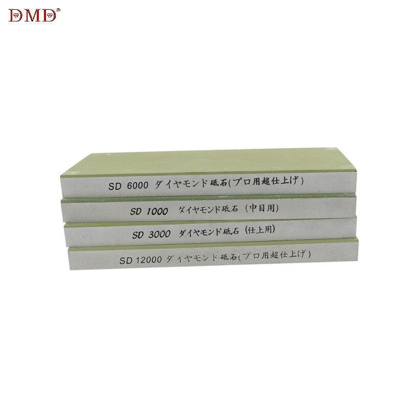 Afilador de piedra japonés 1000 3000 6000 12000 grano resina de diamante profesional afilador de cuchillos afilador piedra de afilar h2