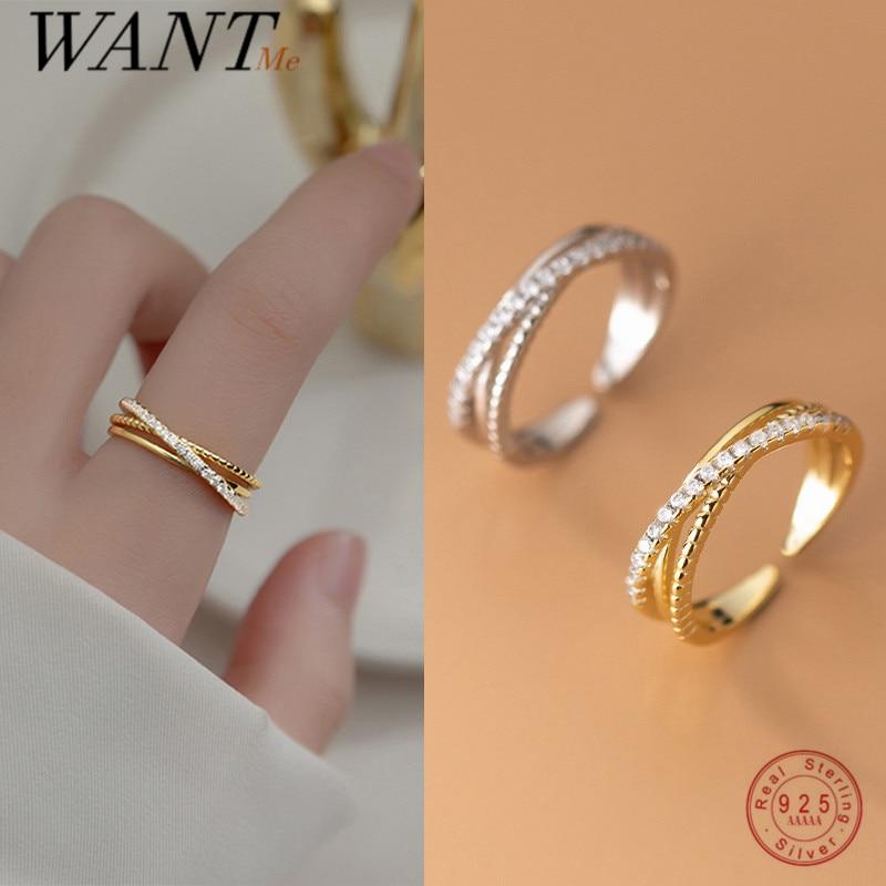 Женское-трехслойное-обручальное-кольцо-wantme-из-стерлингового-серебра-925-пробы-с-цирконом-и-открытым-крестом-изящное-свадебное-Ювелирное-У