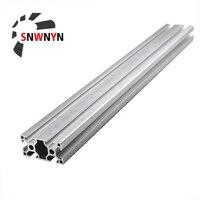 3060 extrusion aluminum profile 3060 length 100 1200mm european standard anodized linear rail for diy cnc 3d printer parts 1pc