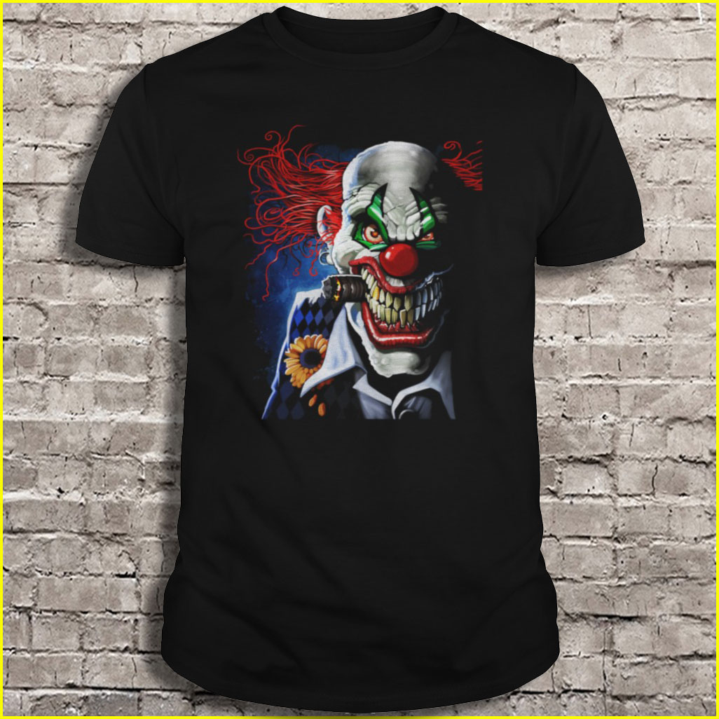 Camisetas de payaso malvado Velocitee
