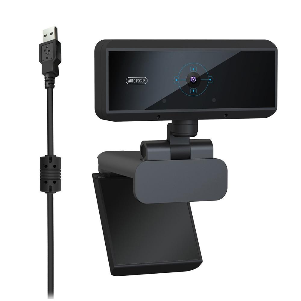 Full HD 1080P 30fps 5M píxeles USB Webcam micrófono incorporado Auto Focus ordenador periférico Web cámara para Youtube PC Laptop
