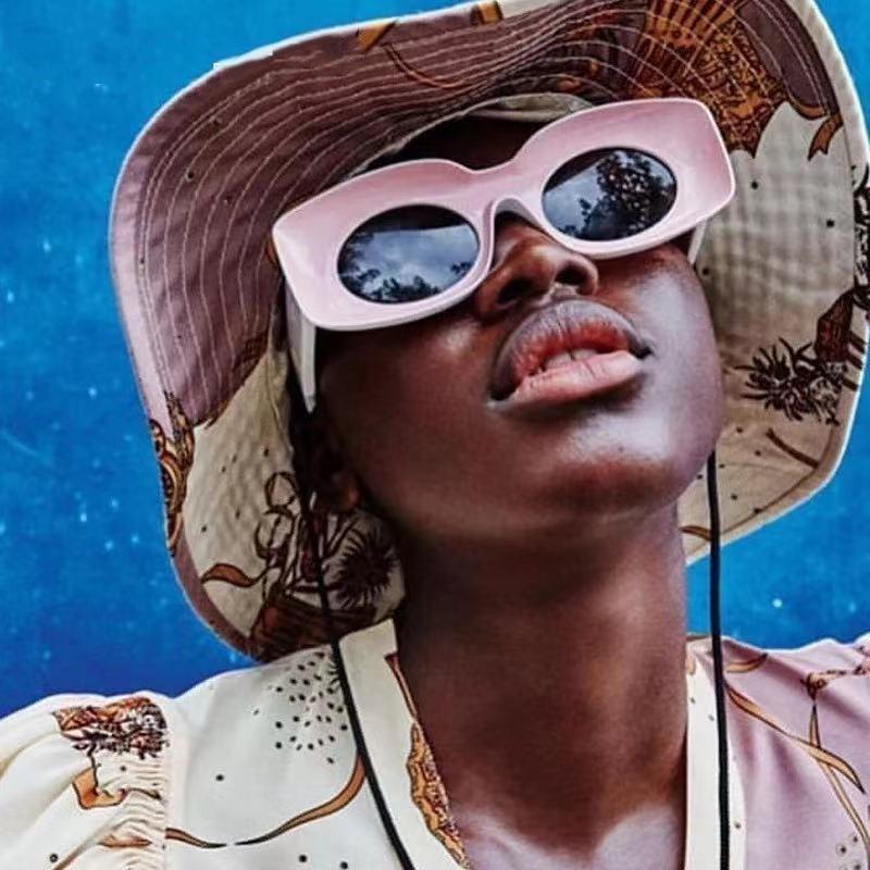 Square Sunglasses For Women Men Luxury Brand Oversize Couple Sun Glasses Female Retro Hip Hop Shades