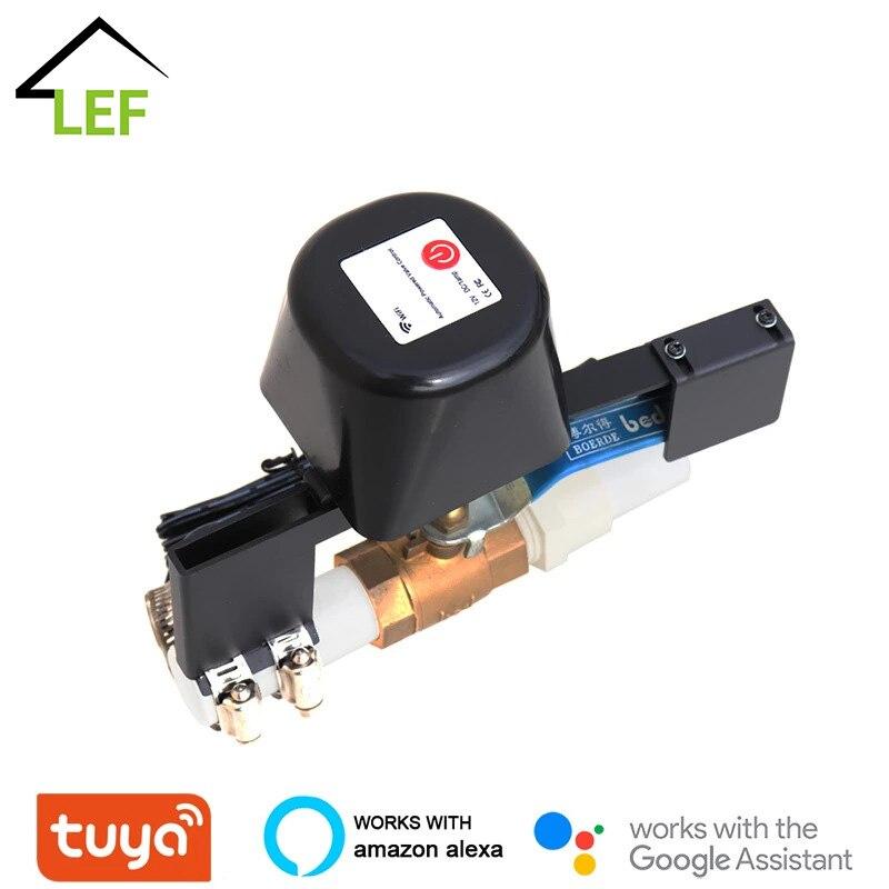 وحدة تحكم ذكية لصمام الماء ، واي فاي ، تحكم ذكي في صمام الماء والغاز ، تطبيق Smart Life ، جهاز تحكم عن بعد لاسلكي ، أتمتة المنزل ، Alexa ، Google Home