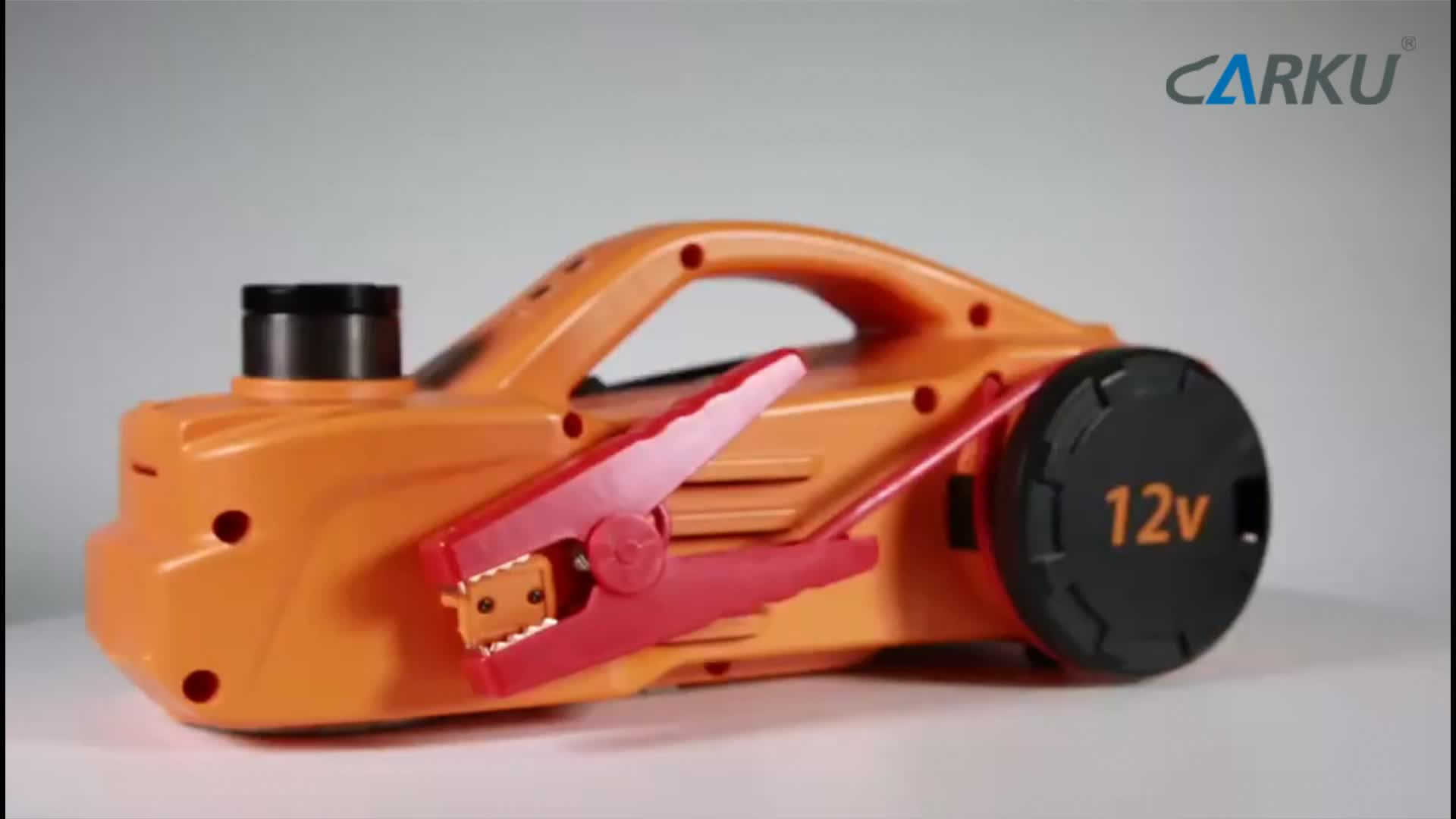 CARKU popular portable car jack jump starter 12000mah 600a with air compressor in south africa