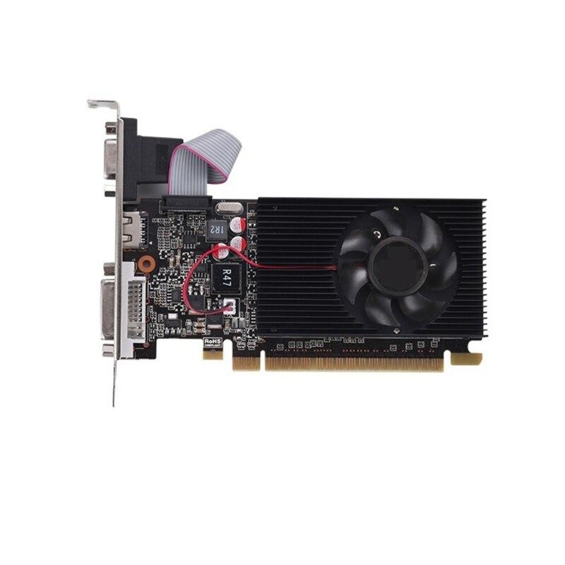 محمول NVIDIA GT 730 Pci-e 3.0 بطاقة جرافيكس منفصلة 2GB DDR3 128 بت HDMI متوافق مع لاعب المهنية