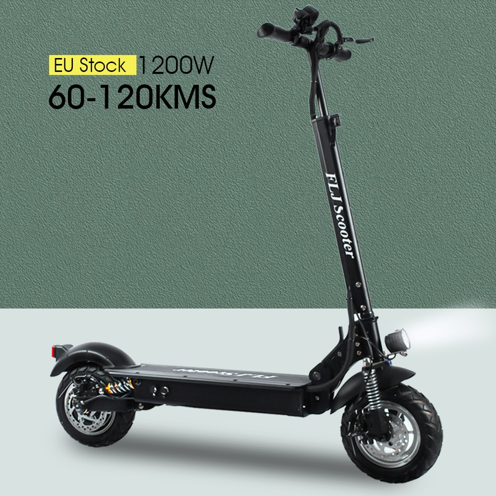 1200W E Scooter for s with seat 48V kick scooter foldable big wheel foldable electro e bike Electric scooter