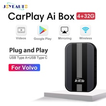MMB USB Carplay AI Box für Volvo XC90 XC60 S60 V60 S90 XC40 Android System 4 + 32G Wireless video TV Player Navigation Zubehör