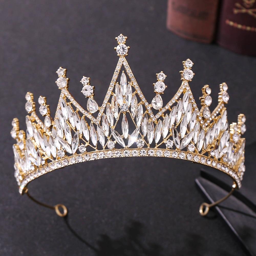 Accesorios para el cabello de cristal Vintage de diamantes de imitación para...