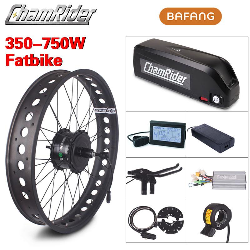 Bafang-طقم محرك الدراجة الكهربائية 48 فولت ، 750 واط ، موديل RM G060 ، نظام تحويل الدراجة الكهربائية بإطارات 4.0
