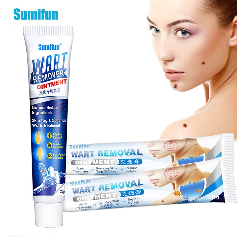 2Types Of Wart Removal Ointment Skin Tag Corn Remove Antibacterial Cream Herbal Extract Medical Plaster Body Health Care