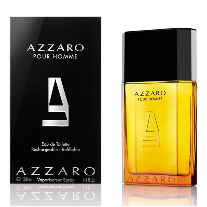 Men's Parfum AZZARO EAU DE TOILETTE Long Lasting Fresh Colonges Fragrance Original Parfume Vaporisateur Spray original 100ml perfume men fresh long lasting eau de toilette temptation pheromones cologne parfum male spray bottle fragrance
