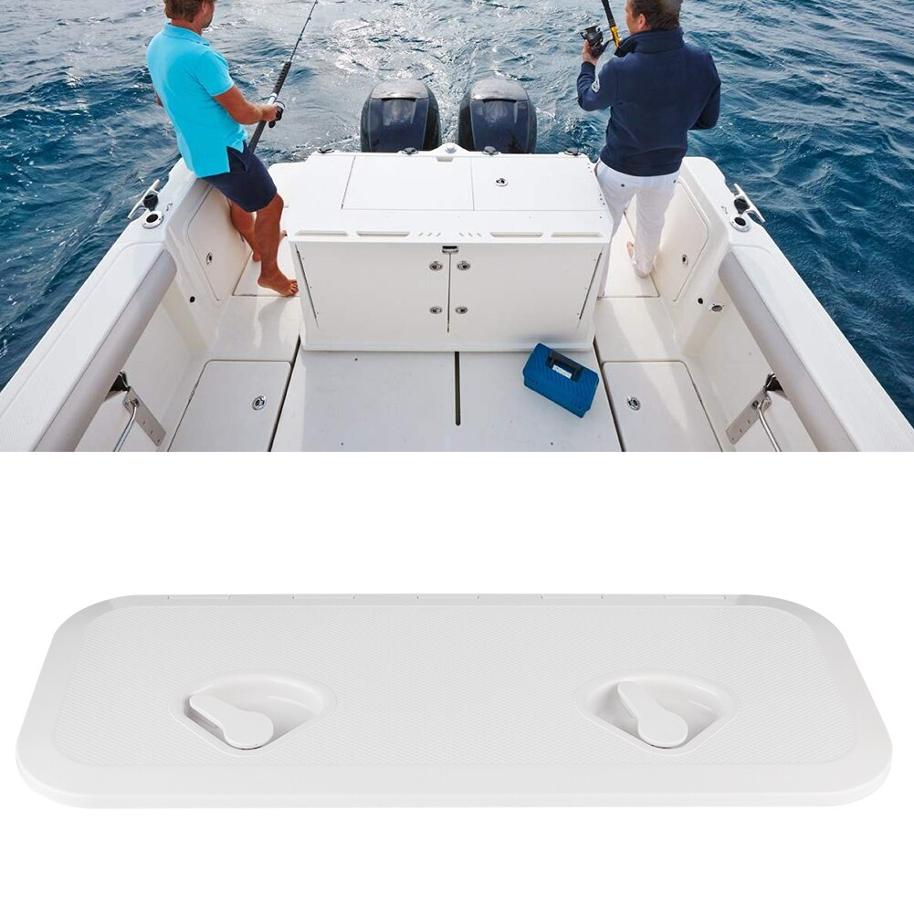Platz Deck Zugang Inspektion Abdeckung Doppel Griff Anti-Uv RE-243-607 Marine Boot Yacht Teile ABS