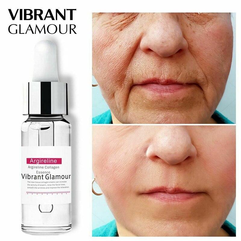 Anti Aging Collagen Face Serum Cream Anti-Aging Wrinkle Lift Firming Whitening Moisturizing Skin Care Vibrant Glamour недорого
