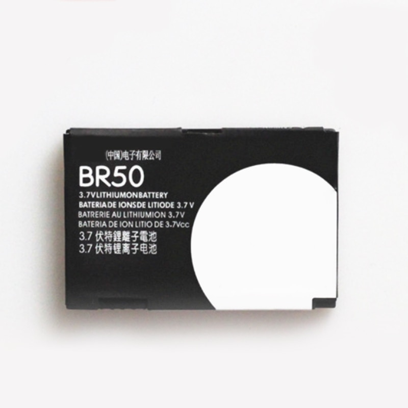 100% Real BR50 710mAh For Motorola Moto Razr V3 V3c V3E V3i V3m V3r V3t V3Z Pebl U6 Prolife 300 500 Phone Battery+Tracking Code