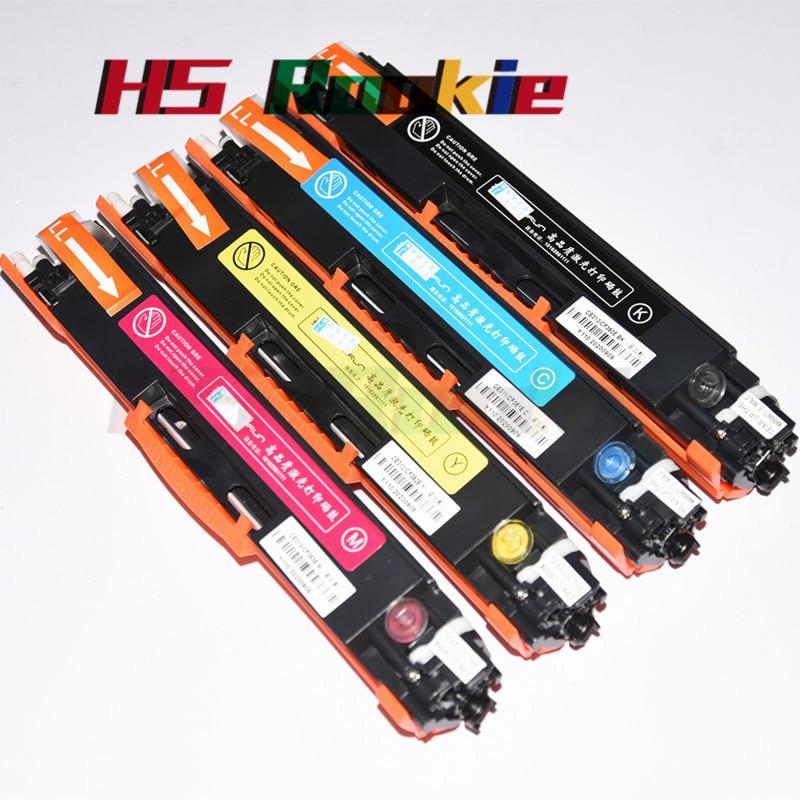 1 مجموعة CE310A ل HP Color Laserjet CP1025nw CP 1025 برو CP1025 100 اللون MFP M175NW M175 M175A NW M275 126A الحبر خرطوشة