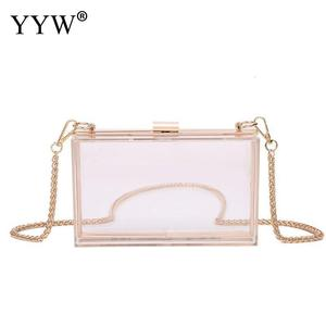 2020 New Summer Clutch Women Acrylic Clear Bag Purse Cute Transparent Crossbody Bag Women Handbags Party Wedding Evening Clutch