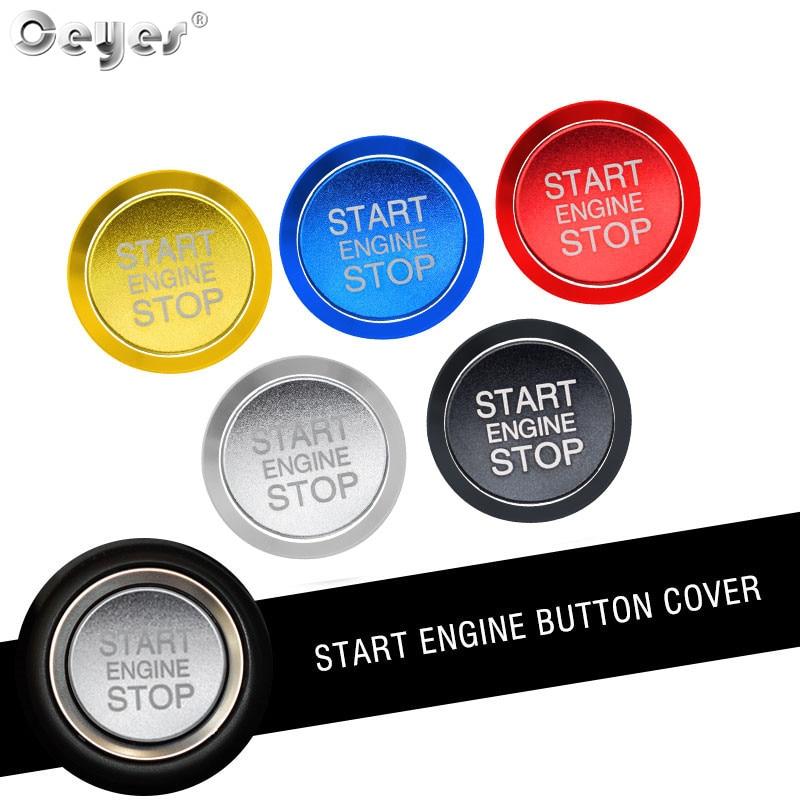 Ceyes авто двигатель кнопка запуска стоп кольцо чехлы Чехол для Alfa Romeo Mito 159 147 156 Giulietta Stelvio 166 наклейки для стайлинга автомобилей