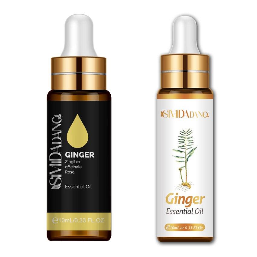 10ml difusor aroma óleo gengibre fumigação banho com conta-gotas óleos essenciais perfume feminino essentials difusor de aroma