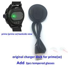 Подставка для зарядки USB Зарядное устройство s кабель для передачи данных для kospet Prime Смарт часы Prime SE Смарт часы наручные часы Зарядное устройство Док станция для закаленного стекла