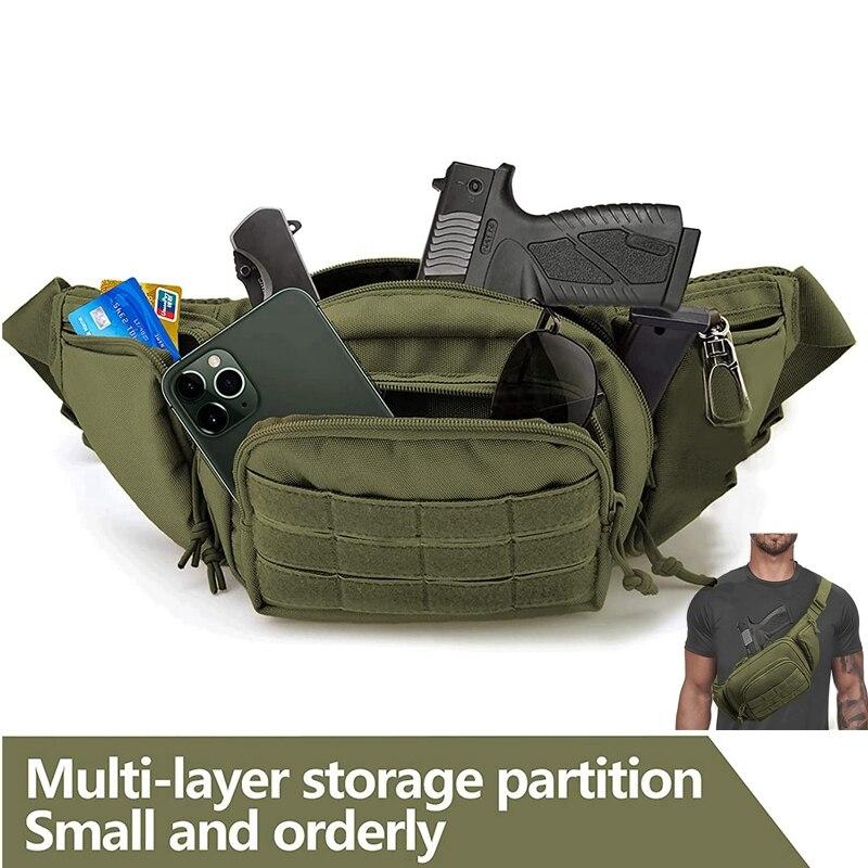 Тактический чехол для пистолета, скрытый чехол для пистолета, переносная поясная сумка, портативный чехол для пистолета, мягкий чехол для пистолета для мужчин, женщин, детей