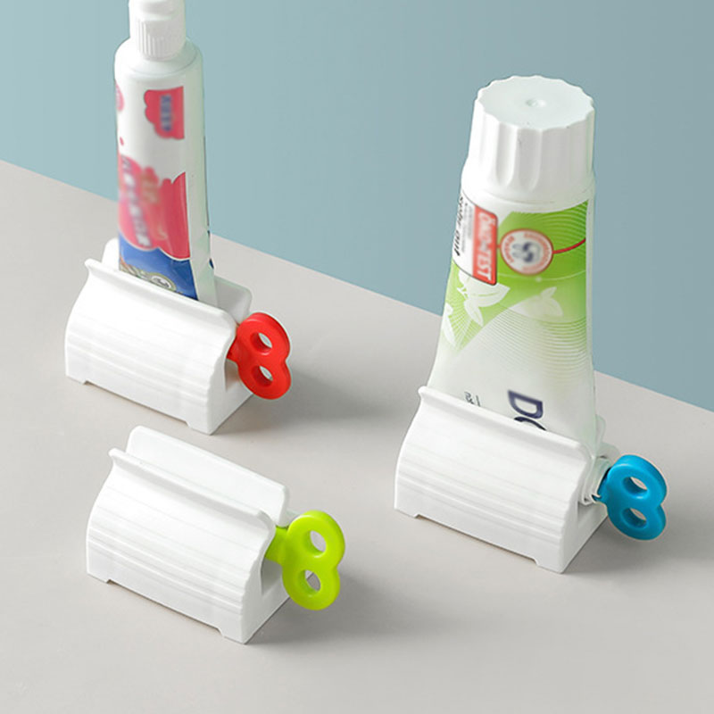 Toothpaste Squeeze Artifact Squeezer Clip-on Household Toothpaste Device  Lazy Toothpaste Tube Squeezer Press Bathroom Supplies