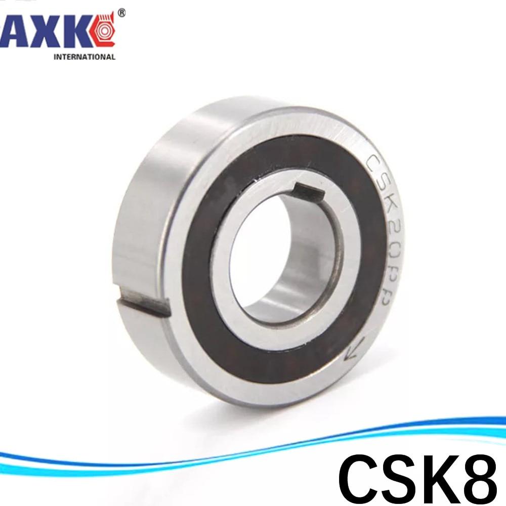 Rodamiento unidireccional CSK8 10 12 15 17 20 25 30 40, embrague de desbordamiento PP de dos vías