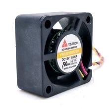 Y.S Tech 3015 wentylator YW03015012BH 12V 3cm obudowa dysku twardego karta graficzna wycisz wentylator chłodzący