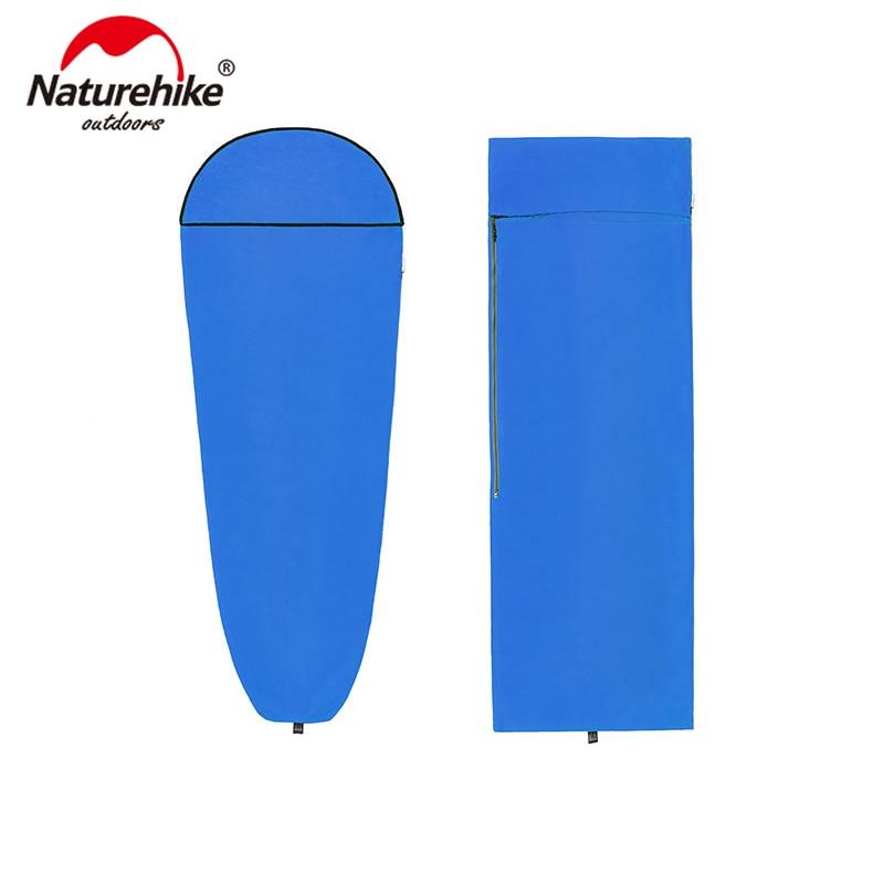 Naturehike Coolmax momia estilo de cubierta portátil suave saco de dormir Linner NH17N003-D