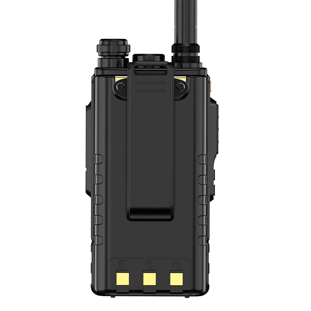 Zastone M7 dual band 5W walkie talkie 136-174 400-480mhz 250 channels 2600mah battery hf transceiver ham radio enlarge