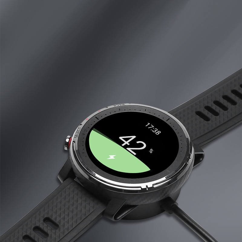 Portable Charging Dock Charger for Amazfit Stratos 3 Smart Watch USB Charging Cable Magnetically fixed for Amazfit A1928