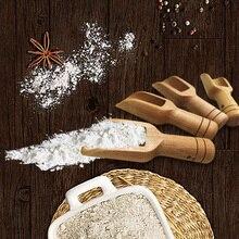 Cuillères à sel de Style japonais   Mini-cuillères écologiques de haute qualité en bois, cuillère à sel de bain, cuillère à farine de bonbons, ustensiles de cuisine