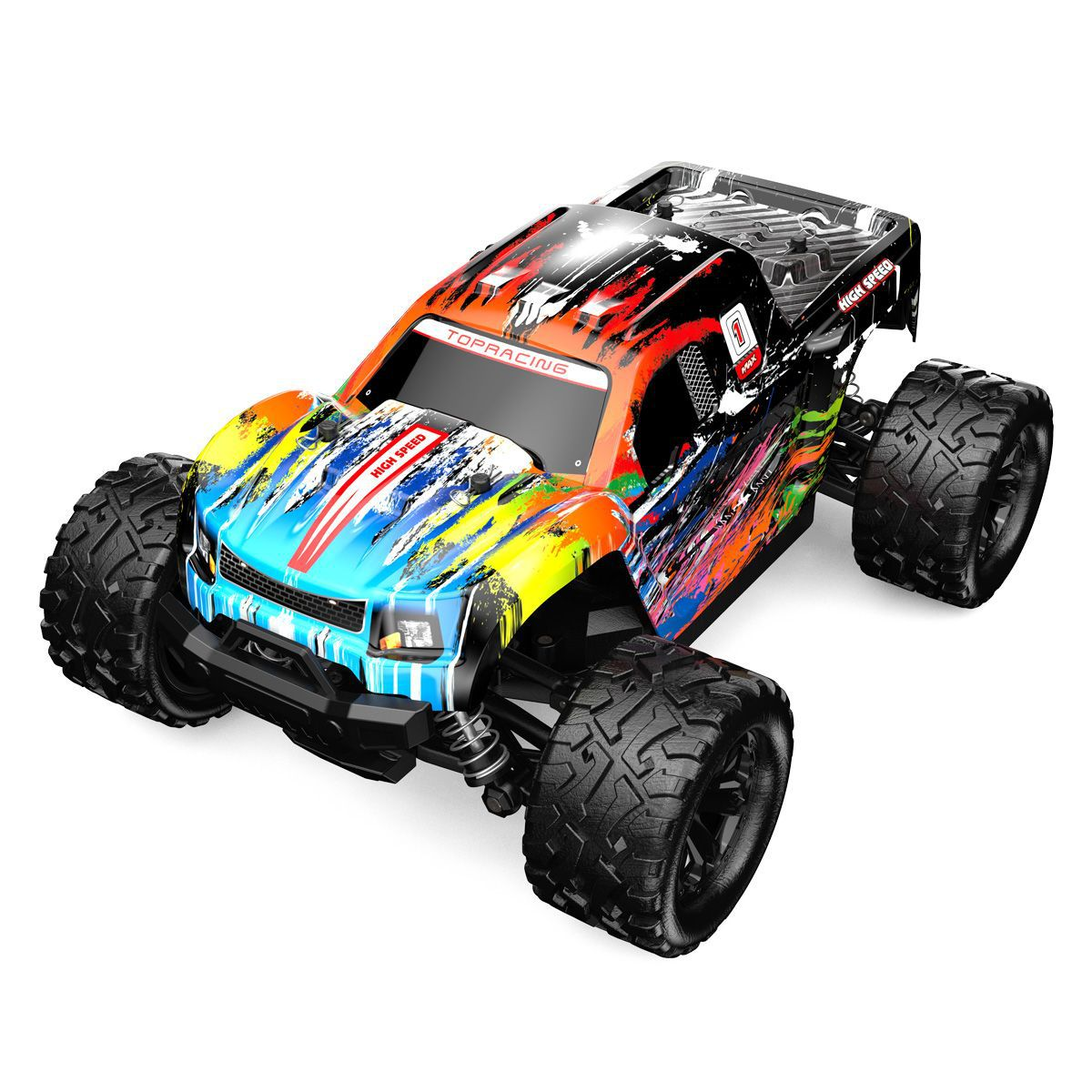 RC Car Truck Bigfoot Monster 4WD High Speed Fast Drift 40KM Remote Control Cars Crawler Climbing Off-Road Children Kids Toy Gift enlarge