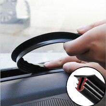 Pegatinas de coche tablero de sellar tiras accesorios para Ford Focus 2 Fiesta Mondeo MK4 Transit Fusion Kuga Ranger Mustang apoyabrazos