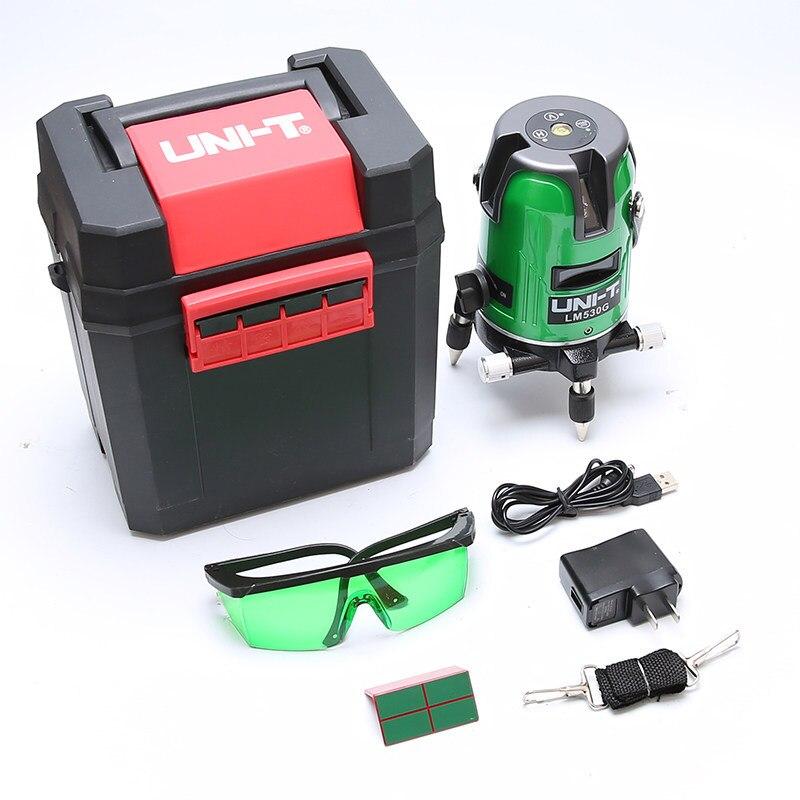 Selfleveling Laser Level Green Line 360 Degree Sensor Line Laser 4d Laser Marking Lazer Poziomica Laserowa Optical Instruments
