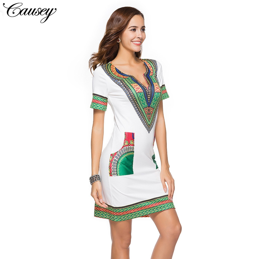 2021In the summer of the new fashion national printed couture dress pocket pattern of cultivate one's morality dress haute couture ateliers the artisans of fashion