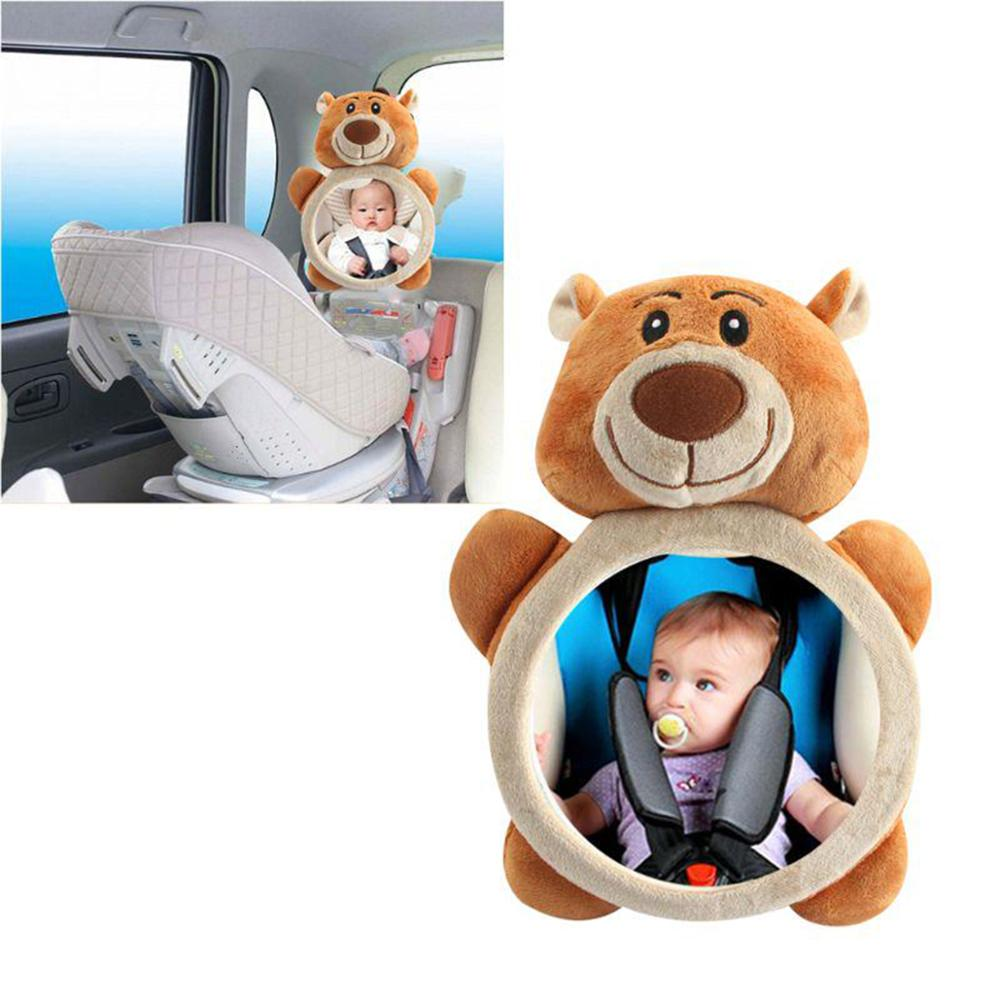 Adjustable Baby Rear Facing Mirrors Ocean Safety Car Back Seat Baby Easy View Mirror Cute Animal Infant Monitor for Kids 2019