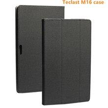 Étui pour Teclast M16 11.6 pouces tablette Pc support housse en cuir Pu + film stylet stylo