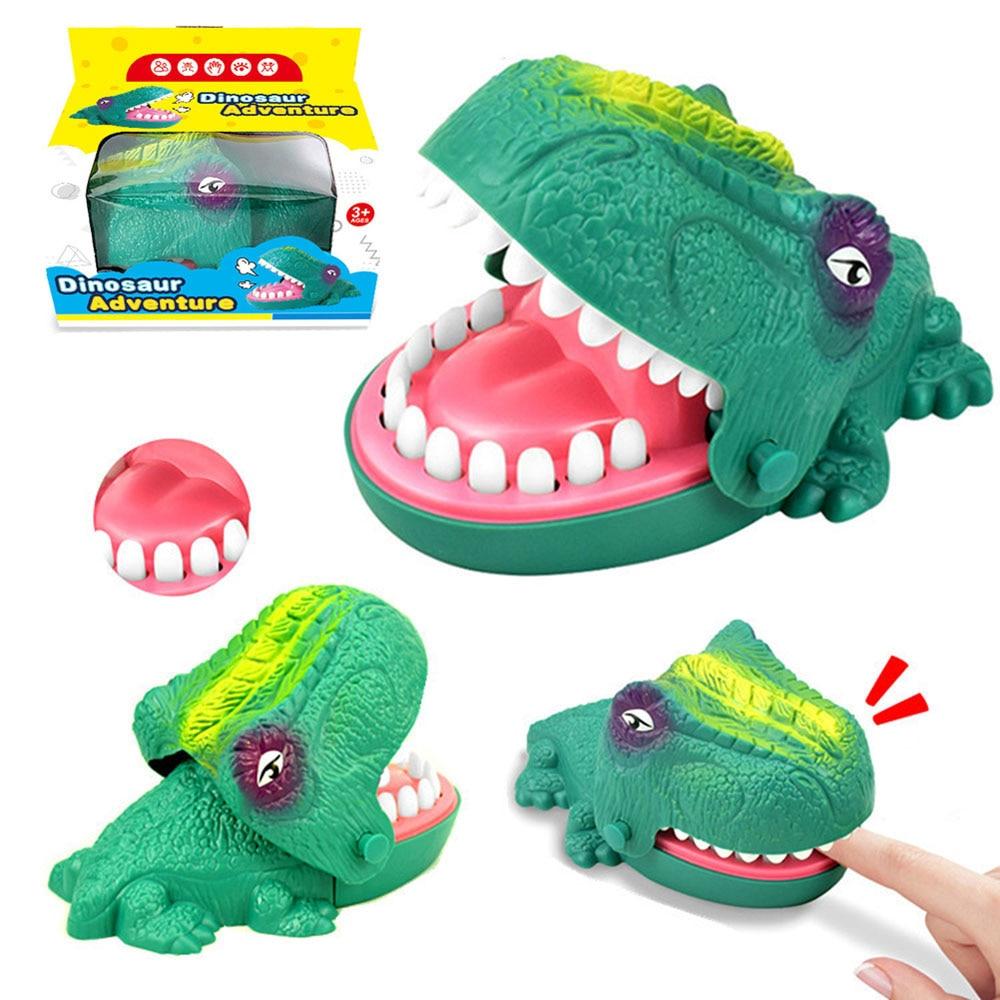 Новинка, игрушки-фиджеты, рот, стоматолог, кусание пальцев, игра, игрушка, забавный динозавр, тянущиеся зубы, игры для бара, игрушки для детей,...