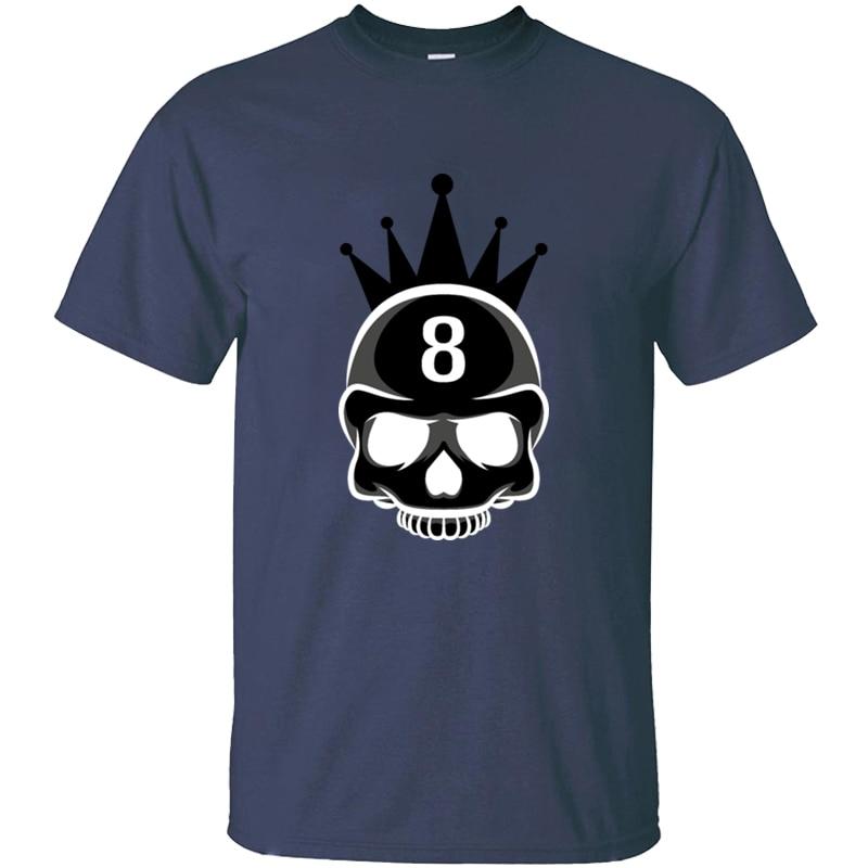 Divertida camiseta de billar Bad Ass para hombre Camiseta de cuello redondo para hombres de talla grande S-5xl Camiseta de algodón