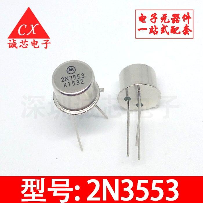 Transistor de línea 2N3553 a-39 pequeño Gossan jin feng guan, envío gratis