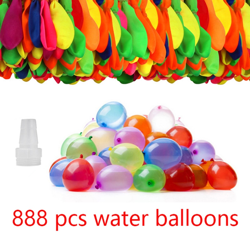 888Pcs Water Bombs Balloons Magic Balloon Quick Fill Outdoor Toys For Kids Water Games Summer Beach