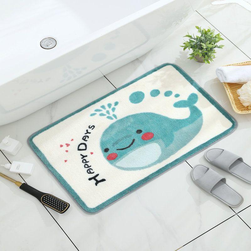 أبواب الحمامات الحصير ماصة المنزلية المرحاض دواسة باب الأطفال الكرتون الطابق ماتس الحمام المرحاض عدم الانزلاق السجاد
