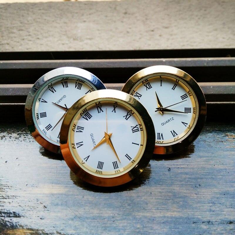 Reloj de cuarzo para coche, decoración de coche para vw POLO Volkswagen Tiguan Passat Skoda Octavia Fabia