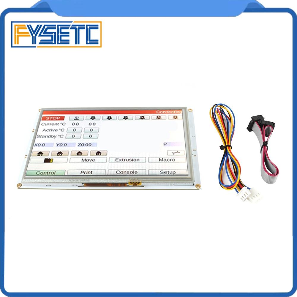 PanelDue 7i-وحدات تحكم في شاشة اللمس الملونة ، 7 بوصات ، Clone ، DuetWifi ، Duet 2 ، V1.04 ، Duet 2 Ethernet