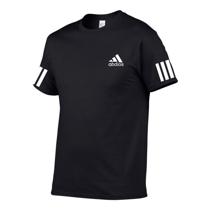 New Brand abdios T-shirt Men/Women Top Summer Casual Short-Sleeved Cotton Mens 100% cotton S-XXL