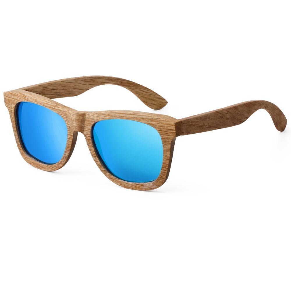CUUPA Vintage wood luxury Polarized sunglasses for women mens sun glasses Beach colored l eyeglasses Anti-UV for Driving